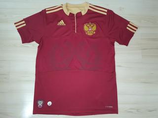 Rara Camisa Da Seleção Da Russia 2009 adidas Tamanho P