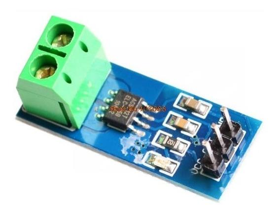 5x Modulo Sensor De Corrente Acs712 30a Arduino Pic