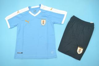 Camisa Uruguai Infantil 19/20 - Pronta Entrega