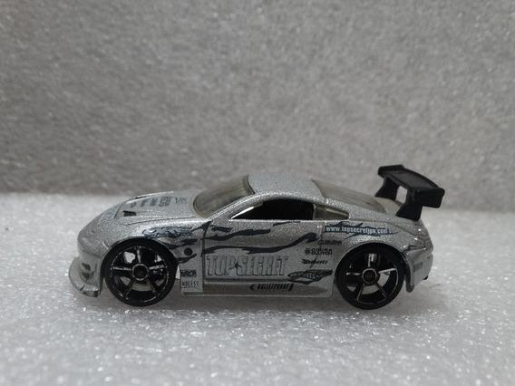Nissan 350z Top Secret Cinza Hot Wheels 2007 1:64 Loose
