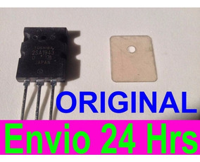 2parestransistor 2sc5200+2sa1943+mica Toshiba Original-japan