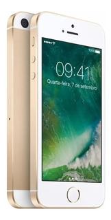 iPhone Se 32gb Dourado - Usado C/ Garantia Apple Brasil