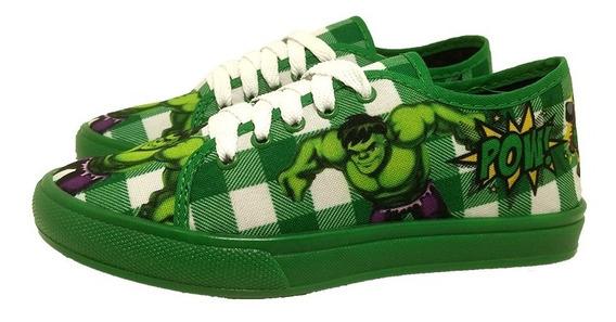 Tênis Infantil Moda Hulk Escolar Barato.