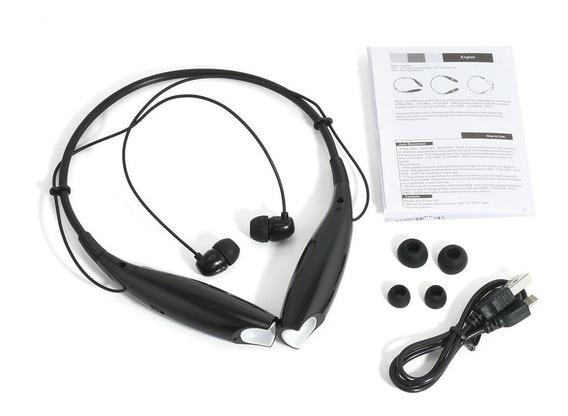 Estéreo Bluetooth Sem Fio Fone De Ouvido Sport Handsfree Top