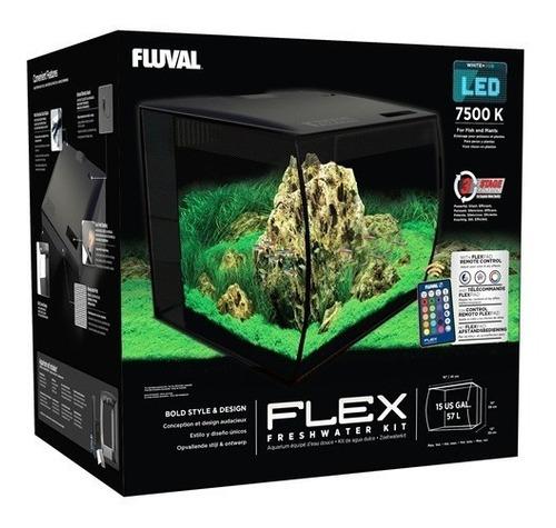 Imagen 1 de 4 de Kit Fluval Flex 57lt Acuario
