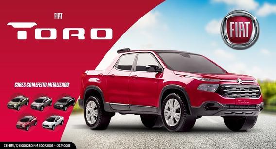 Carrinho Fiat Toro Lançamento Pick Up 38cm - Roma Brinquedos