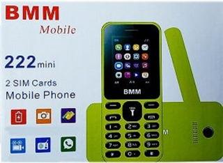 Bmm Nokia 222 Mini 2 Sim Card Nuevo Con Garantía De 3 Meses