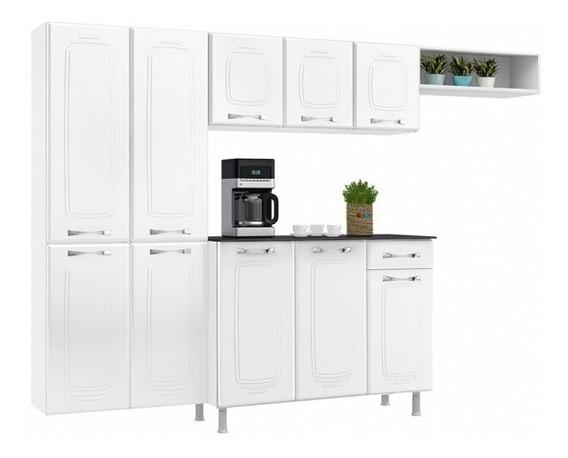 Cozinha Completa Telasul Rubi De Aço 4 Peças Coz97 Branco