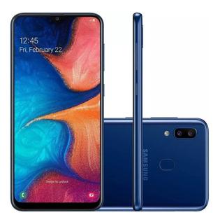 Smartphone Samsung Galaxy A20 Tela Infinita 6.4