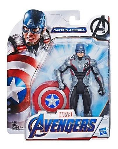 Avengers Endgame Capitán América 6 Pulgadas Hasbro