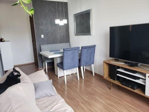 Apartamento Com 2 Dormitórios À Venda, 55 M² Por R$ 225.000,00 - Jardim Irajá - São Bernardo Do Campo/sp - Ap6934