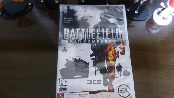 Battlefield Bad Company 2 Pc - Novo Lacrado - Mídia Física