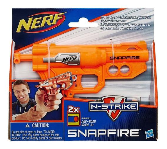 Nerf N-strike Snapfire Blaster Splinter Compacto Hasbro