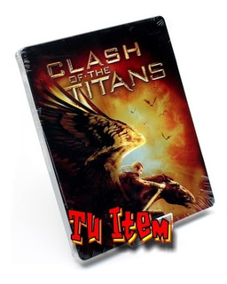 Bluray Dvd Furia De Titanes Steelbook Original Nuevo