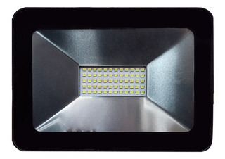 Mini Reflector Led 50w Luz De Dia 5215lm Negro Geopower Cc