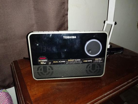 Micro System Toshiba Com Dual Alarme