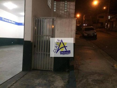 Imagem 1 de 9 de Salão Para Alugar, 220 M² Por R$ 5.900/mês - Vila Pires - Santo André/sp - Sl0087