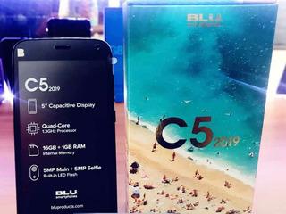 Blu C5 2019 Totalmente Nuevo Liberado 16gb + 1gb Ram, 5 Pulg