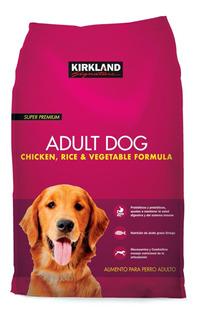 Alimento Para Perro Adulto Kirkland Pollo Y Arroz De 18.1 Kg