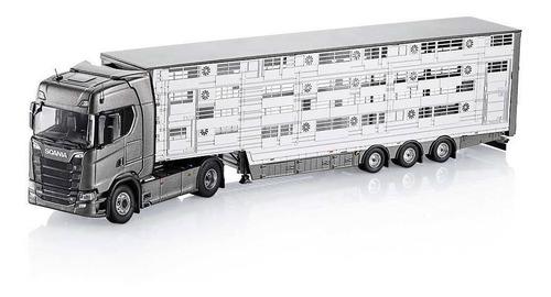 Miniatura Scania S 520 4x2 Tractor C/ Semi-reboque Stock