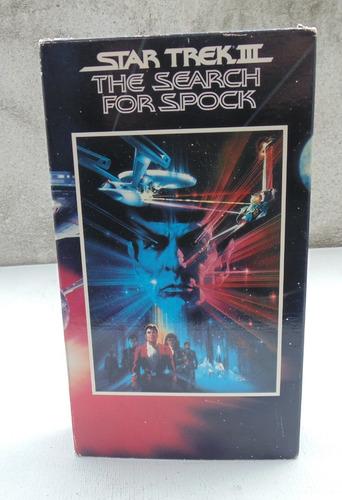 Imagen 1 de 4 de Star Trek 3 The Search For Spock Vhs