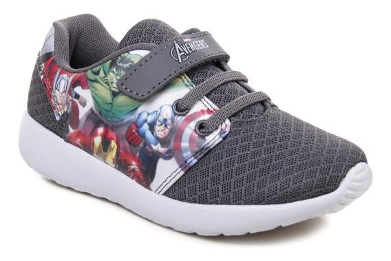 Zapatillas Marvel Avengers Hulk Capitan America Ironman Niño