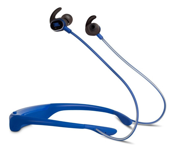 Jbl Fone De Ouvido Reflect Response Azul Earphones Bluetooth