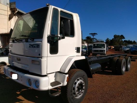 Ford Cargo 2631 6x4 Traçado