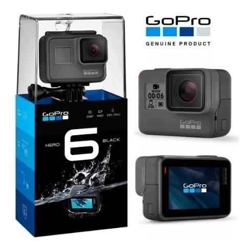 Camera Gopro Hero 6 Black 12mp 4k60 (601)