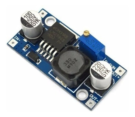 Módulo Regulador De Tensão Step Down Lm2596 - 20 Unidades