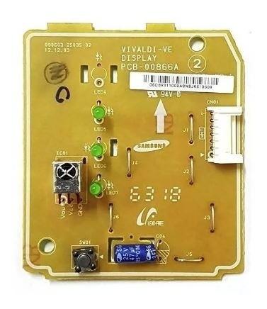 Placa Display Ar Condicionado Samsung 9 12 18 24 Db93-11009a