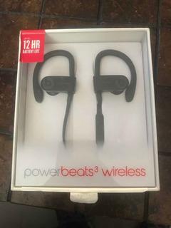 Audífonos Powerbeats 3 Wireless Negros