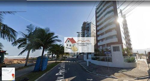 Imagem 1 de 3 de Apartamento À Venda, 57 M² Por R$ 220.000,00 - Vila Caiçara - Praia Grande/sp - Ap0669
