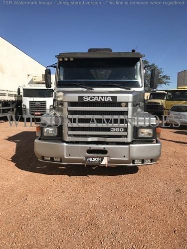 Scania T113 320 1995 Prata