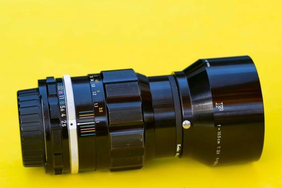 Lente Nikon 105mm 2.5 Convertida Ai.
