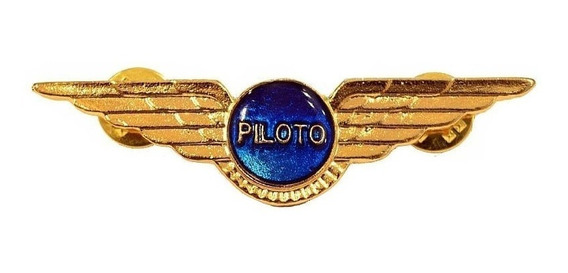 Brevê Para Piloto De Avião Ou Helicóptero