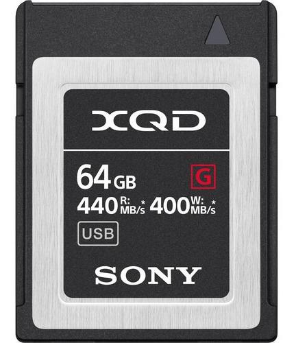 Cartão De Memória Sony Xqd 64gb Series G - Pronta Entrega