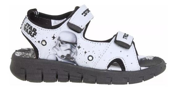 Sandalias Addnice Niño Star Wars Trooper Con Luces Fty