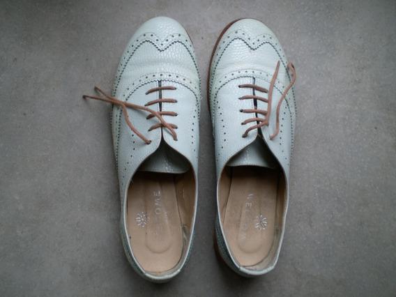 Zapatos Abotinados Mujer