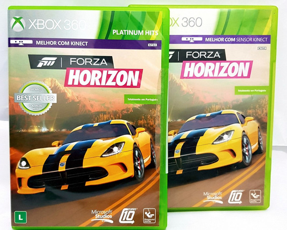 Forza Horizon Xbox 360 Midia Fisica Original Retrocompativel