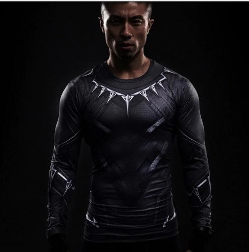Pantera Negra , Camisa Compressão