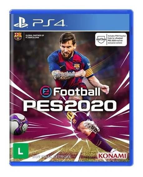 Efootball Pes 20 Pro Evolution Soccer 2020 Ps4 Original 2