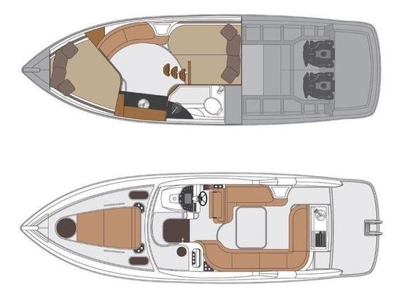 Lancha Armatti 350 (somente Casco)