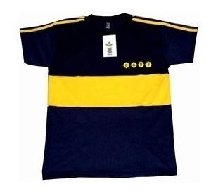Camiseta De Boca Juniors Titular 1981 Retro #10 Maradona