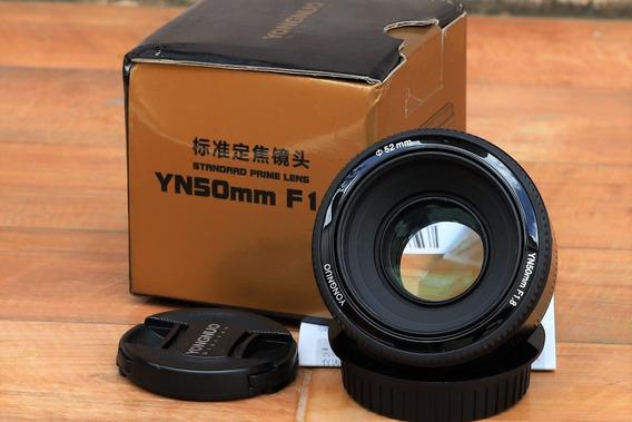 Lente Yongnuo Yn 50mm F/1.8 - Canon