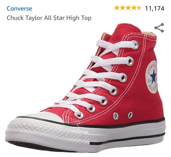 Zapato Converse Chuck Taylor High Top Originales Talla 9 1/2