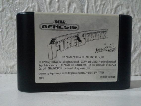 Fire Shark Original 100%, Label Bem Conservada