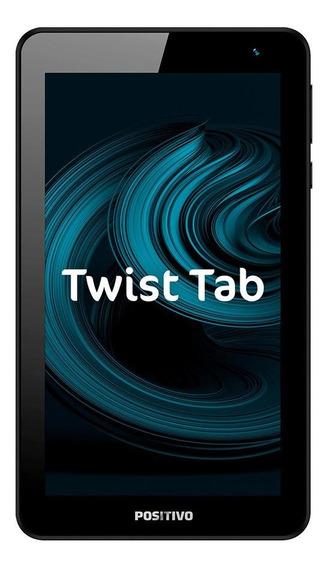 """Tablet Positivo Twist Tab T770B 7"""" 32GB cinza com memória RAM 1GB"""