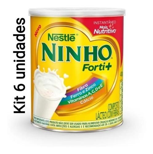 Kit 6 Latas - Leite Pó Ninho Integral 400g === Frete Gratis