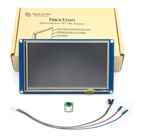Tela Lcd Nextion 2.4 Tft Hmi Touch Screen Arduino *100304